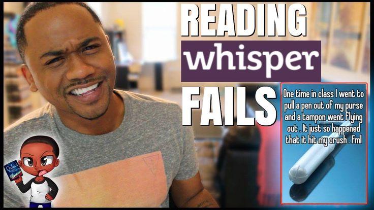 Reading Whisper Fails - Funny Confessions | Alonzo Lerone