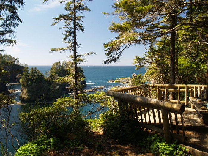 Cape Flattery is the northwestern-most point of the contiguous United States, and it's one of the most enchanting places you'll ever see. It can be found in Clallam County on the very tip of the Olympic Peninsula,