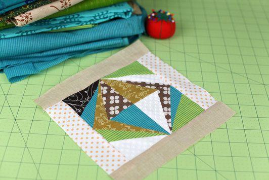 June: Quilt Block #6