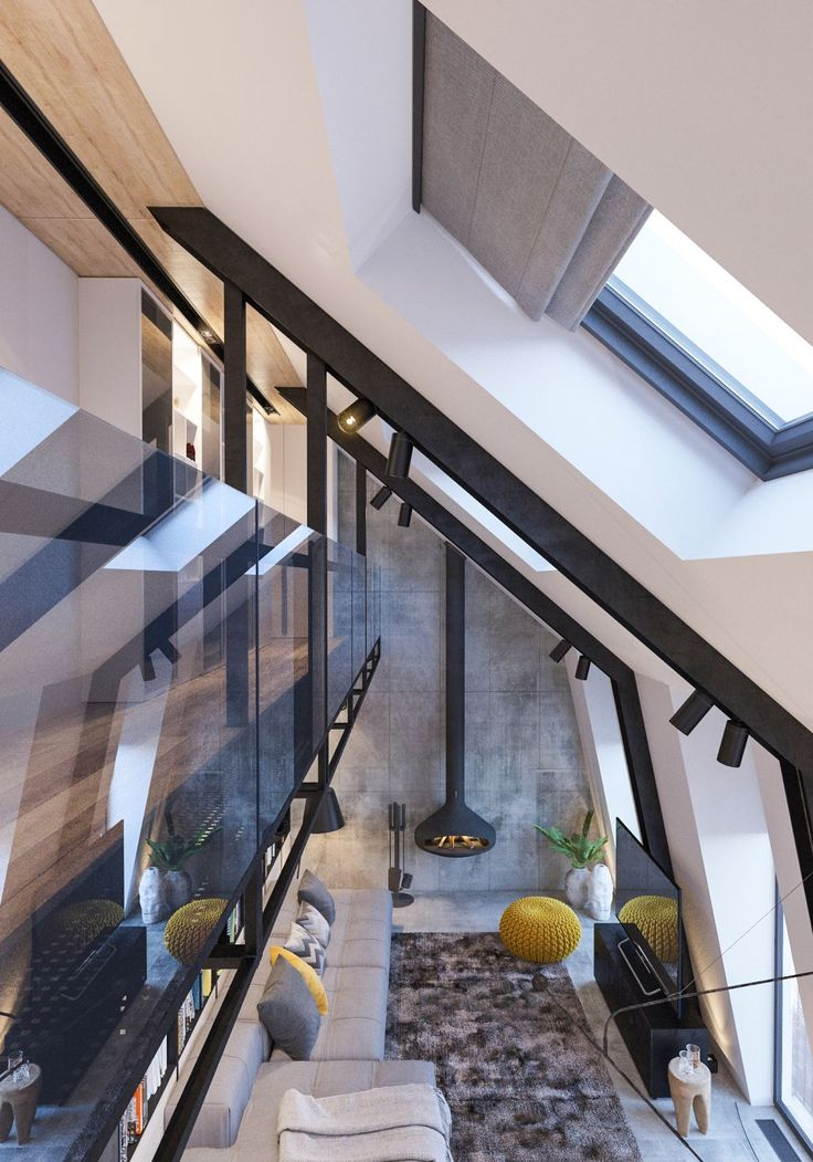 A family home doesn't need to come in a standard format. A two-storey dream, this attic conversion has all the elements a great interior requires. Making the