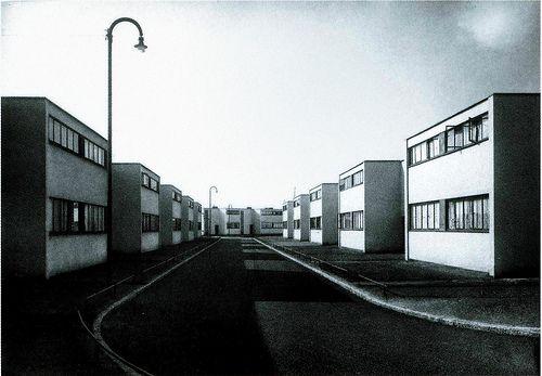 Walter Gropius, Törten housing estate Dessau (1926-1928)