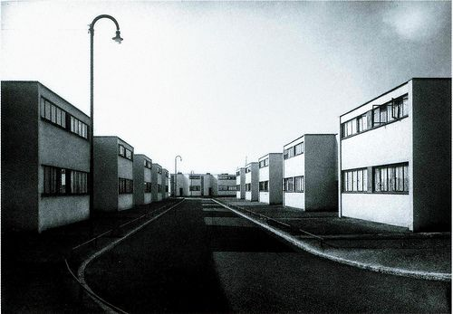 Walter Gropius, Törten housing estate Dessau (1926-1928)