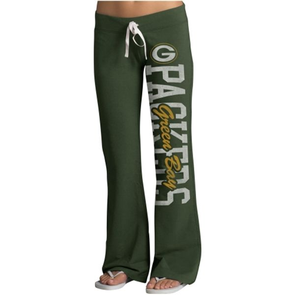 Green Bay Packers '47 Brand Womens Pep Rally Pants – Green