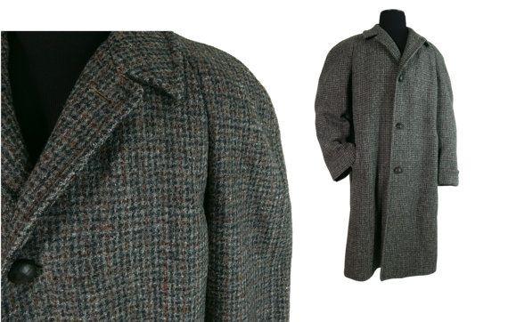 Harris Tweed Mens Coat - Coat Nj