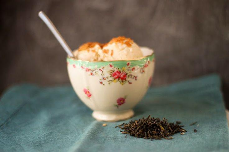 Jasmine Green Tea Ice Cream Recipe — Dishmaps