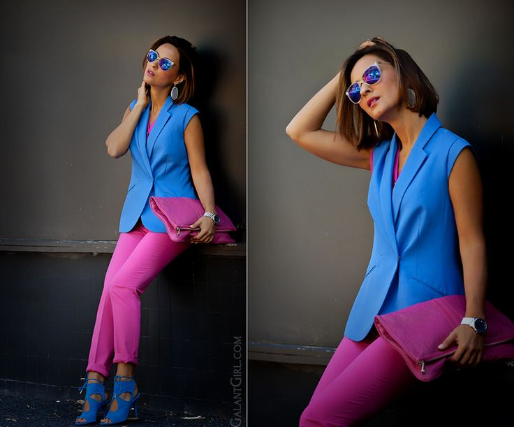 colorblock outfit by GalantGirl.com