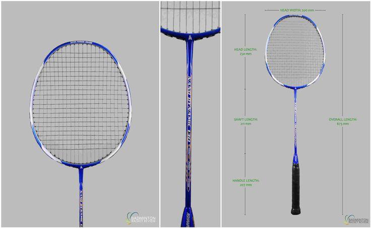 Ashaway Nano Dynamic 130 Badminton Racket