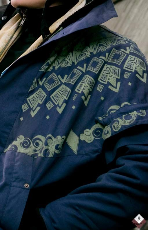 Tenzing jacket, from the Tibet collection by Tina Olsson