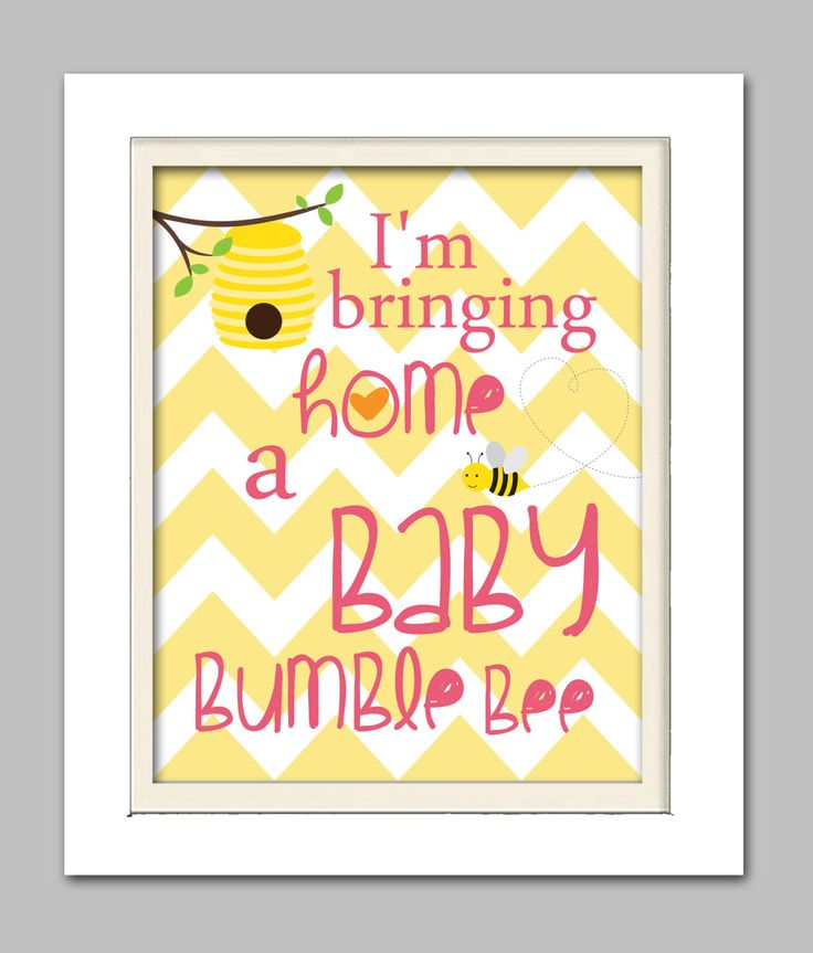 Bumble bee baby shower, Bumble bee baby shower sign, Choose your colors by ChicWallArt on Etsy https://www.etsy.com/listing/185466866/bumble-bee-baby-shower-bumble-bee-baby