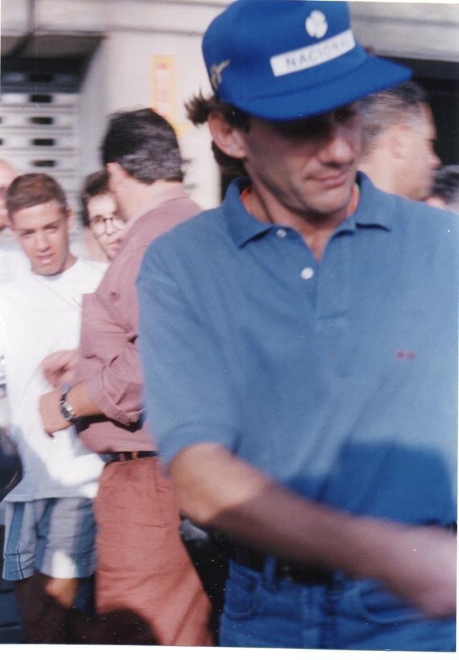 Foto que tirei em Interlagos no ultimo ano em que trabalhei na F1 pela CBA