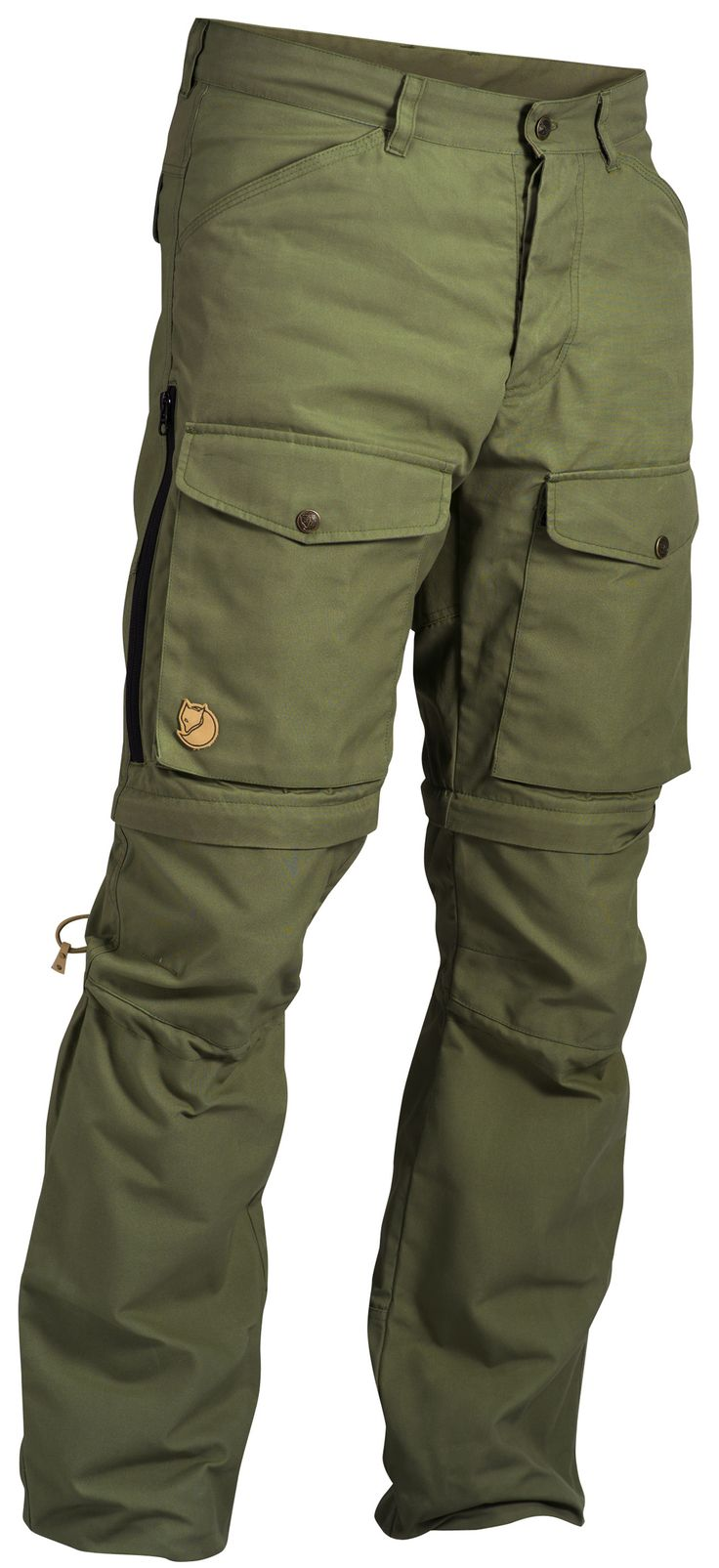 Fjallraven pants. Love that the pockets are on the front not on the sides!