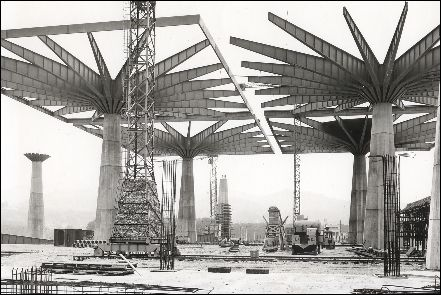 Pier Luigi Nervi Construction Site!!!