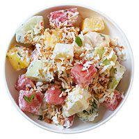 Moms Creamy Fruit Salad