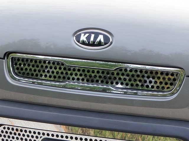 QAA PART SG10830 fits SOUL 2010-2011 KIA (1 Pc: Stainless Steel Upper Grille Insert, 4-door) SG10830