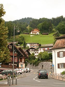 Triesen, Liechtenstein. Triesen is the third largest of Liechtenstein's municipalities. It contains several historic churches dating from the fifteenth century. It also has a weaving mill from 1863 that is considered a historic monument. (V)