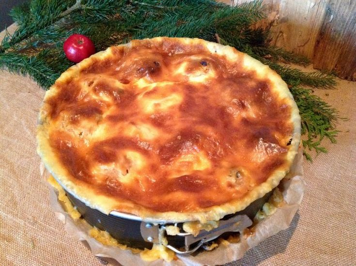 Bratapfelkuchen, ein himmlischer Weihnachtskuchen  So soll ein Kuchen schmecken, ein Gedicht.