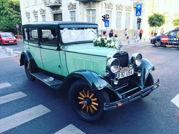 Old car on streets  #oldcars #style #romania #bucharest #cars
