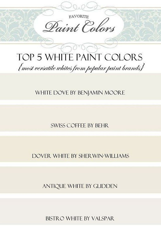 Best White Paint Colors best 25+ best interior paint ideas only on pinterest | best wall
