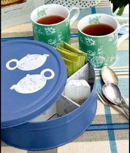 En las tertulias, compartir los mejores momentos con estilo no tiene precio: Organizador para té. http://ideasparadecoracion.com/organizardor-para-te/