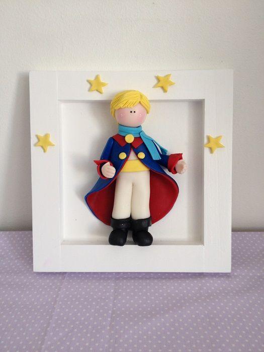 cuadro del principito, ideal decoración infantil