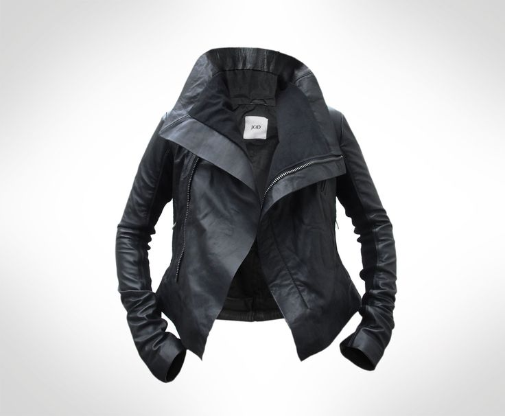 Custom Black Leather Biker Jacket by J.O.D by JOD Clothing on Etsy,$403.39