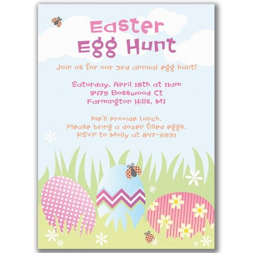 Images of easter potluck invitation wording sc for easter egg hunt party invitations httpwww stopboris Image collections