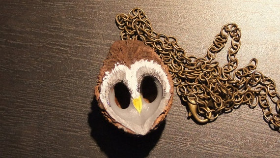 Walnut Shells Amp Owl Faces Crafty Possibilities Pinterest