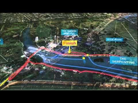 2012 Olympic Triathlon Course