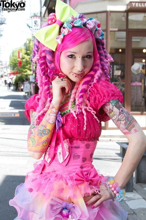 Fairy Kei kawaii japanese harajuku fashion, would love to go to Japan and study the fashion industry