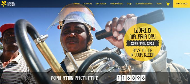 The Goodbye Malaria website, where passionate Africans and humanitarians can learn how to save a life while they sleep. Find out More.