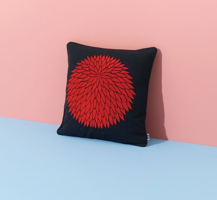 Chrysanthemum Cushion by Nazanin Kamali | Modern Cushions | Case