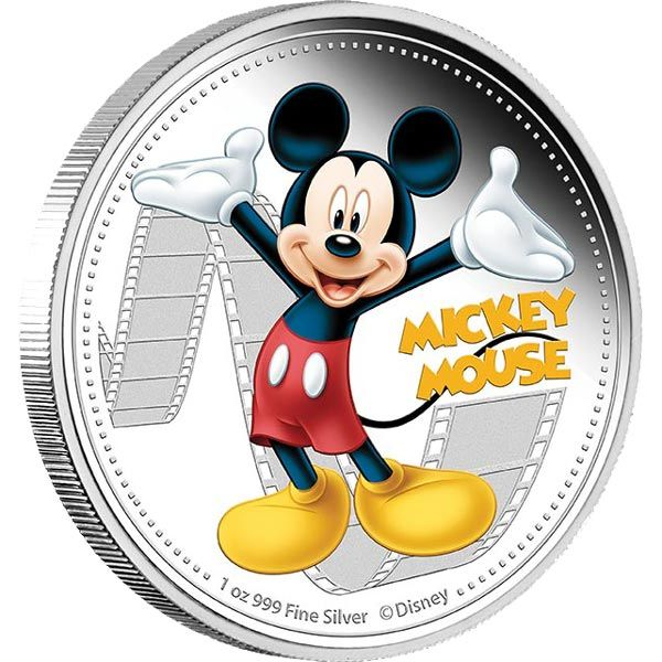 Mickey Mouse - 1oz pure silver limited edition collectible