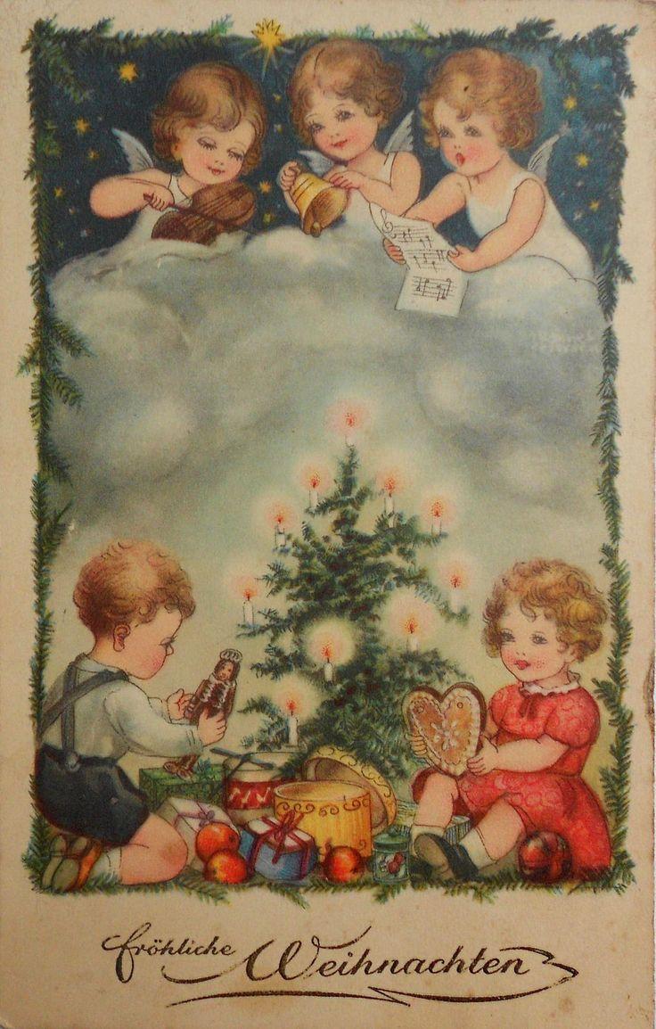 123 Best Oude Kerstplaatjes Images On Pinterest Christmas