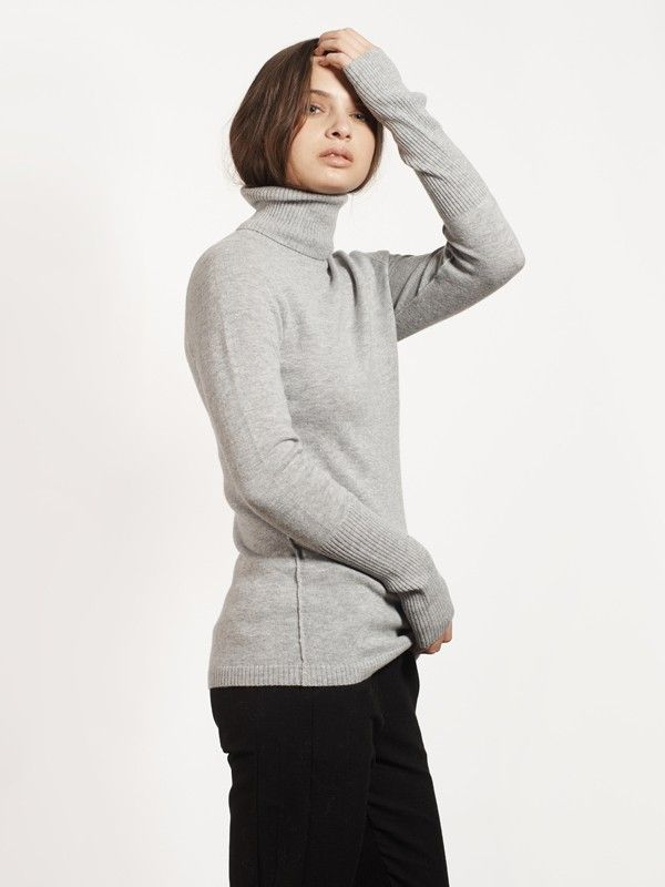 150.00 $CAN ARIA-Lightgrey - Sweaters - Apparel
