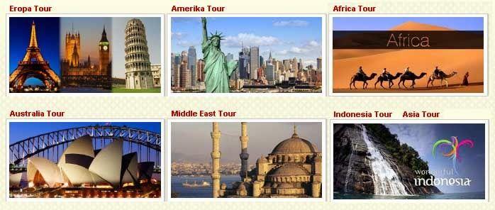 Paket wisata muslim internasional
