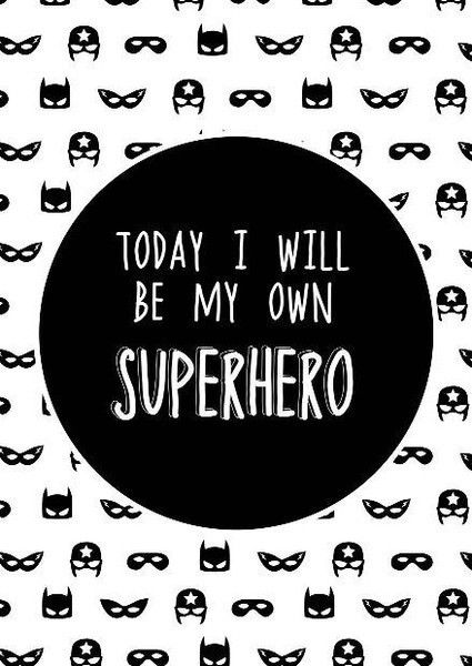 SUPERHERO - WALL DECAL