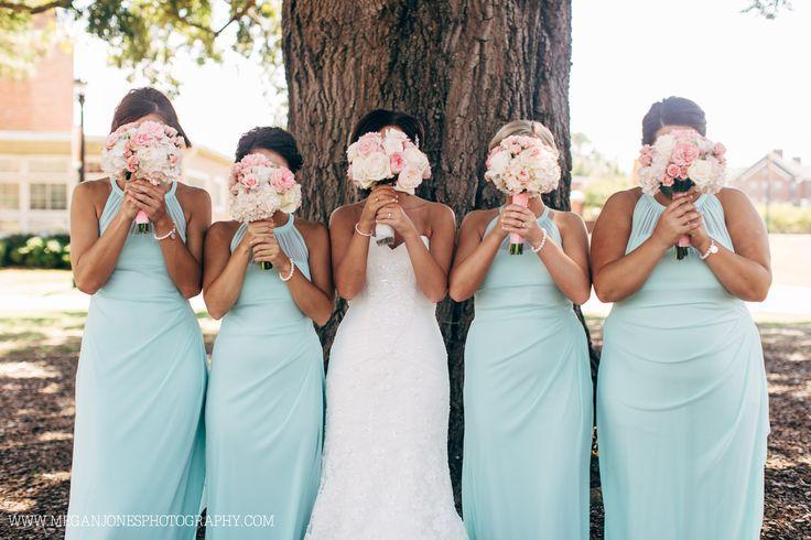 Bridesmaids // Wedding Photography // Campbell University // Butler Chapel // Megan Jones Photography