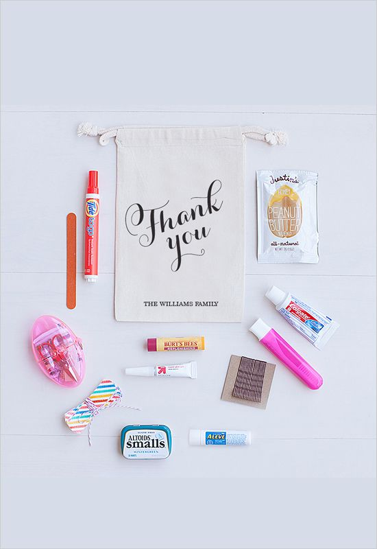 get your thank you favor bags this cyber weekend!