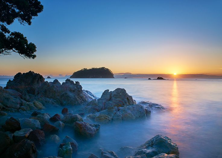 Sunrise from Moturiki Island, Mount Maunganui. Now available for purchase as print, canvas or framed artwork. Printed in New Zealand.