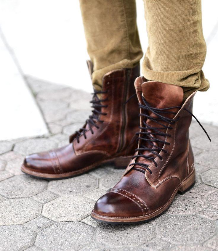 HENDRIX TEAK RUSTIC - Boots - Men BED|STU