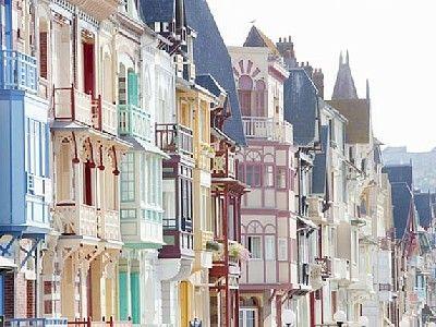 Mers-les-Bains - Le front de mer et ses villas