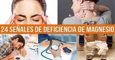 Desafortunadamente, casi nadie se da cuenta de que los malestares de los que sufrimos diariamente realmente son síntomas de deficiencia de magnesio.  http://articulos.mercola.com/sitios/articulos/archivo/2016/01/26/senales-de-la-deficiencia-de-magnesio.aspx