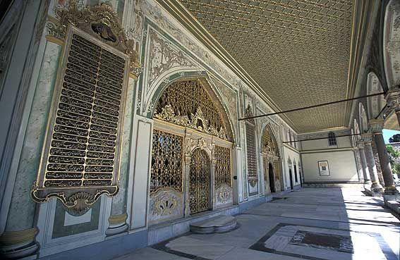 Topkapi Palace (Topkapi Sarayi), Istanbul, Turkey.