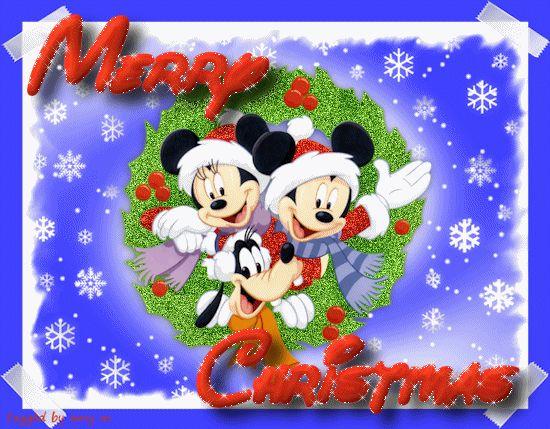 Disney Christmas Gif