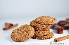 Jednoduché skořicové ovsené cookies