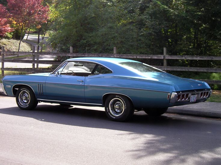 1968 Impala Fastback | This Grotto Blue L-72 car is owned by Grant Russell. Grant's ...