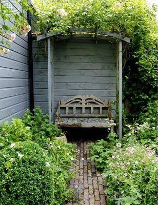 Brabourne Farm: Garden Benches
