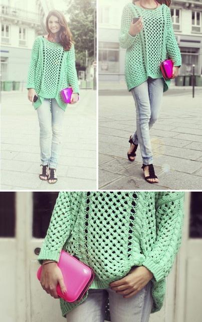 knit   spring