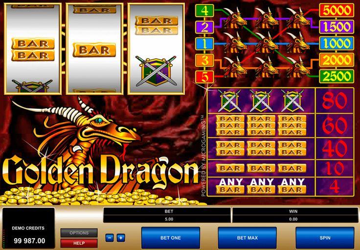 Kolkkopeli Golden Dragon #Microgaming tehty on hyvä vaihtoehto jos haluat pelata hedlmäpeliä. Slotissa on 50 pelilinjoja ja kolme ilmaiskierrosta kaikkille. Kolikkopeli tehty idän tyylissä, kaikki hajontamerkit kertovat sinulle idän kultuurista.