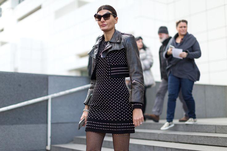 Street Chic: Style from Paris Giovanna Battaglia | Diego Zuko